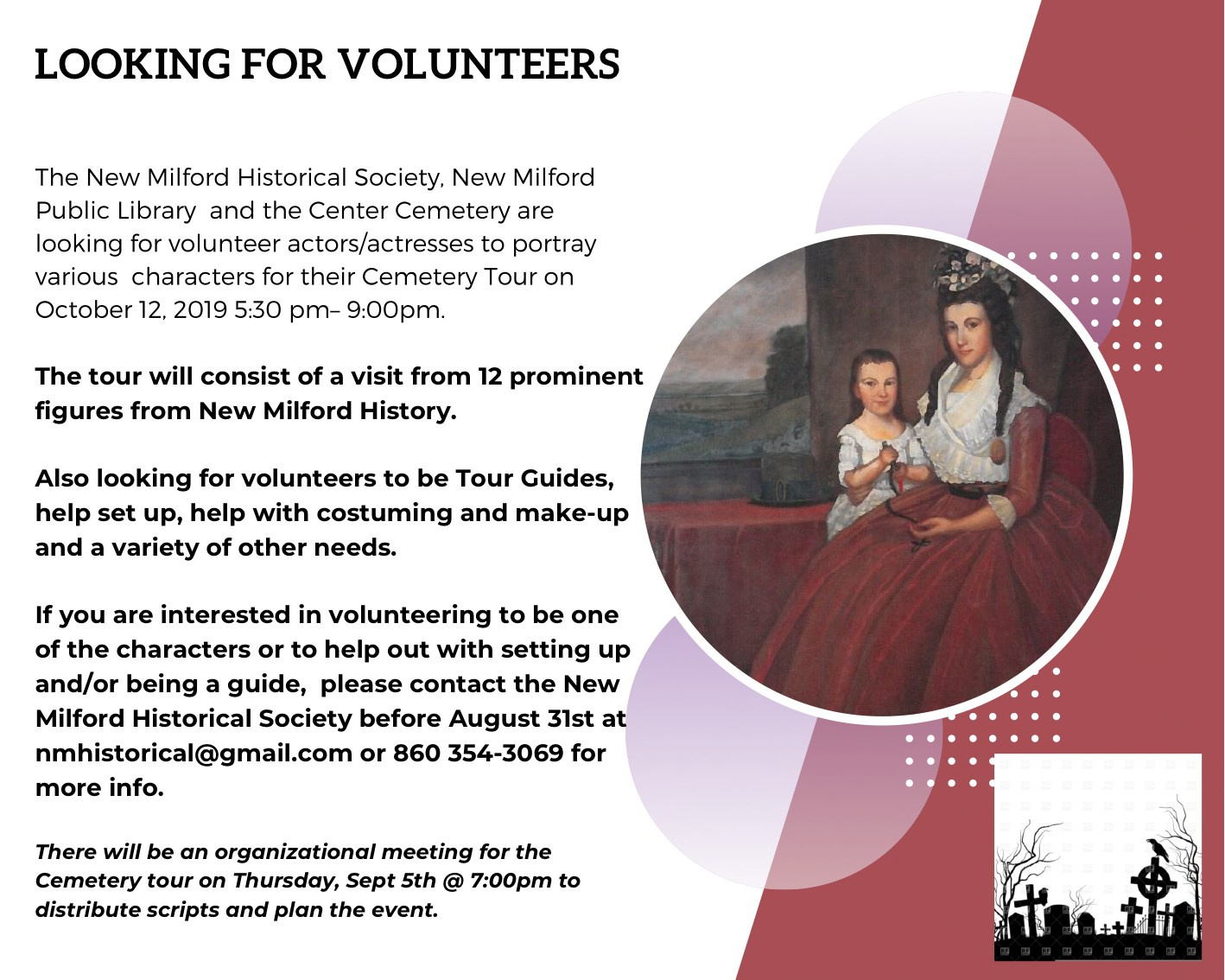 Volunteer actors/actresses Needed