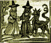 """The New Milford Historical Society and the New Milford Public Library are proud to present  Panic in Connecticut: Accused Witches Have Their Say  Travel back to the 17thcentury and hear what 5 women accused of witchcraft have to say. Actress Virginia Wolf brings them to life, fully costumed, fully incensed, fully frightened. Painstakingly researched, """"Panic in Connecticut;     Accused Witches Have Their Say"""" is a one woman show that sheds light on the puritan society that    condemned so-called witches to their death thirty years before the hysterics of Salem, MA.  Held in Memorial Hall in the NMPL"""