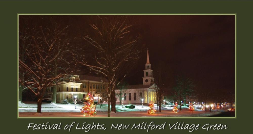 Join us and warm up with hot mulled cider, donuts and coffee after you've taken your pictures of the trees and the decorated fire trucks.  During the Tree lighting on the New Milford Green Come enjoy our old-fashioned Christmas decorations!