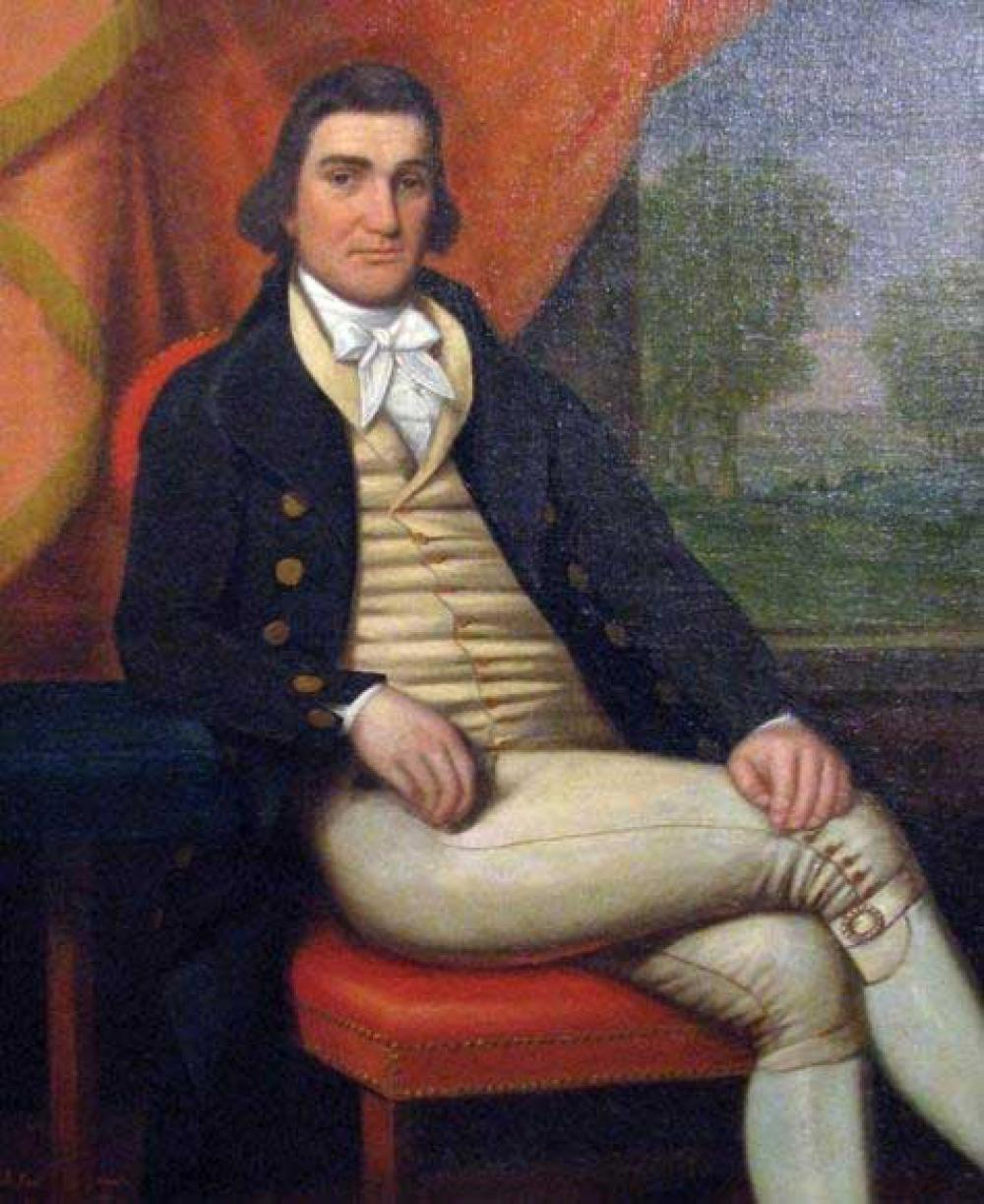 Presentation of an Oil Portrait of  Col. Nathaniel Taylor  & Lecture on  Colonial Portrait Paint