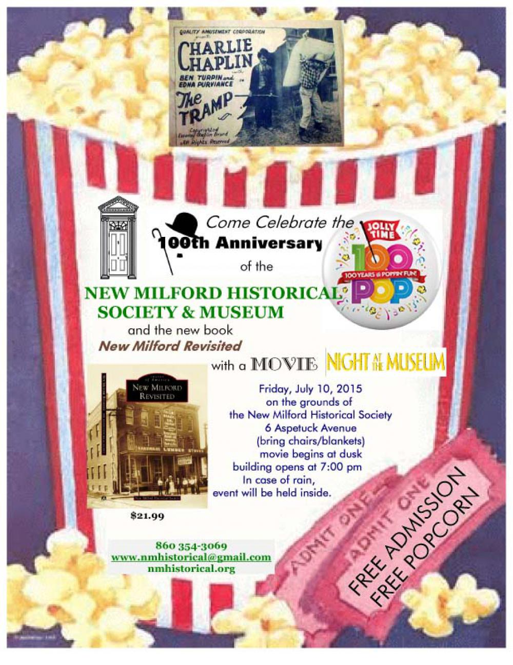 Come celebrate our 100th Anniversary AND the publication of our new book, 'New Milford Revisite