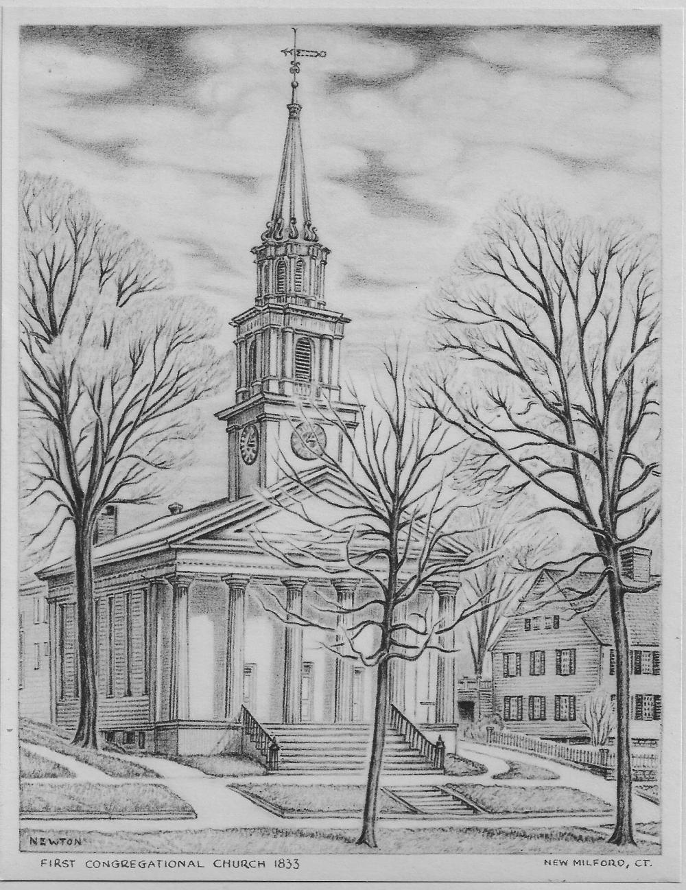The New Milford Historical Society & Museum would like to borrow artifacts from the community related to the First Congregational Church in New Milford.  The museum will be hosting a commemorative exhibit entitled; First Congregational Church: Celebrating 300 Years of Faithful Service in New Milford, 1716-2016 this fall to celebrate their 300th anniversary. The museum is seeking letters, books, objects, art, furniture or other objects related to the long history of the church.  The museum already has a number of objects in their permanent collection pertaining to the Congregational Church such as such as a portion of the pulpit from the 1754 Meetinghouse and original sermons from Rev. Nathaniel Taylor from 1750. Both the Church and the museum would like to get the com munity involved with this special exhibit. The exhibit will run from October 1st through January 8, 2017. Please contact the Museum by September 12th if you would like to participate in the upcoming exhibit.
