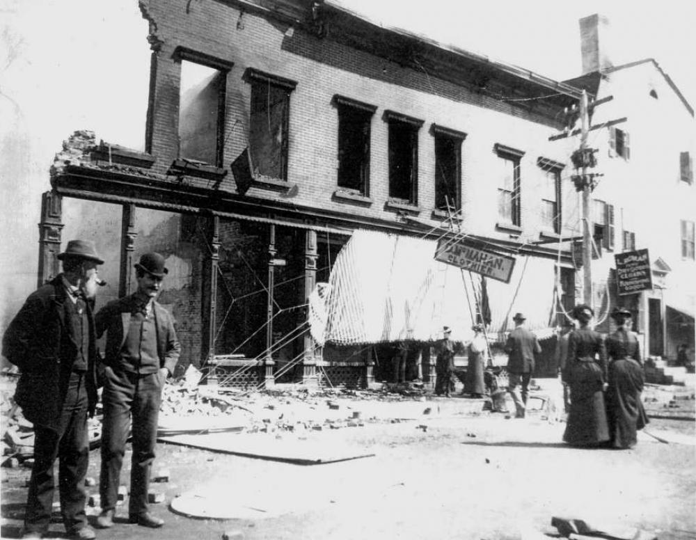 The Fire of 1902 - Presentation of the Great Fire on Bank Street by Joe Cats