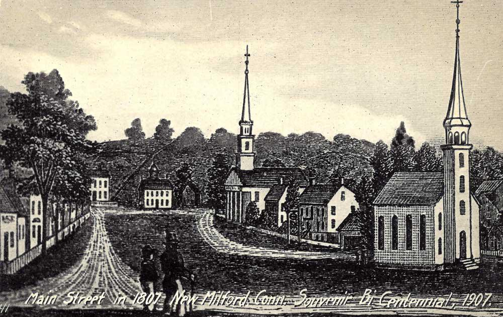 Join us for a Members Only tour of the historic New Milford Green