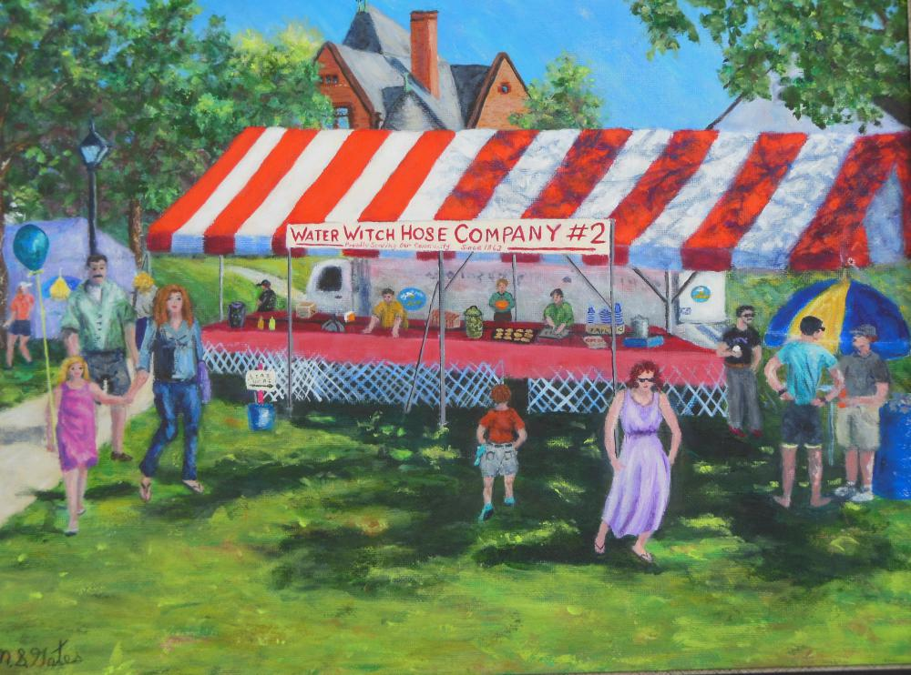 New Milford Historical Society Museum Art Show