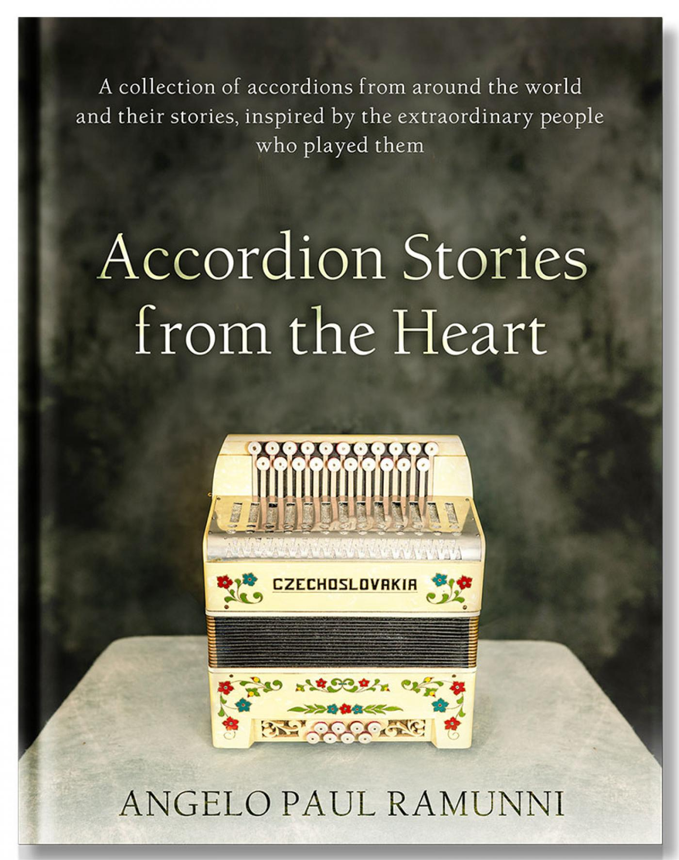 <h3>Stories from the Heart Book Signing and Mini Accordion Concert</h3>