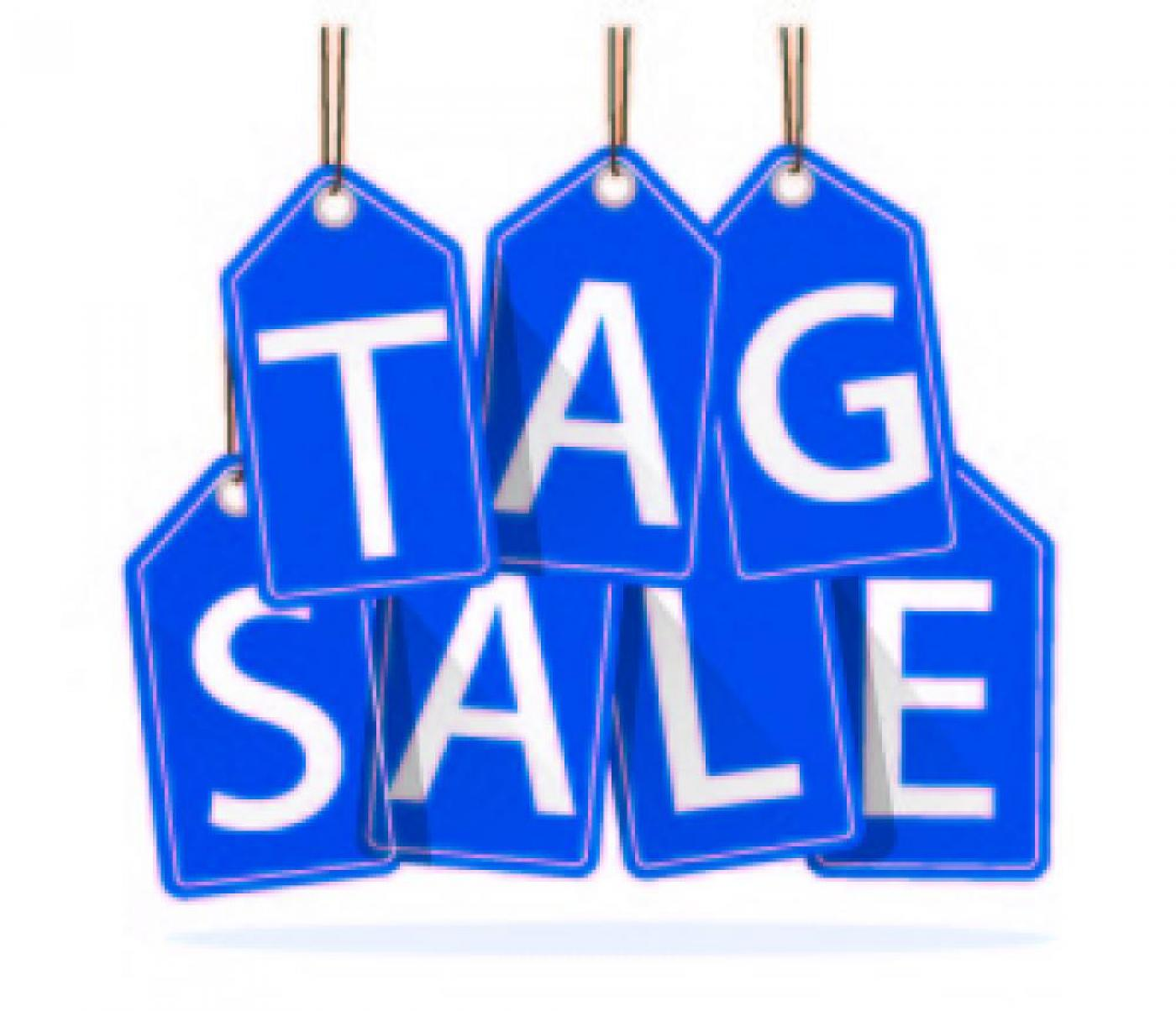 <h2>12th Annual Tag Sale Fundraiser</h2> <p>50% off Sunday July 26th 10:00 - 12:00<br /><br /><em>D