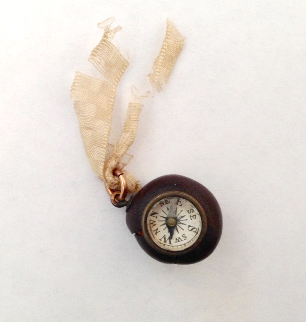 compass from a coffee bean, from the 1915 exhibit
