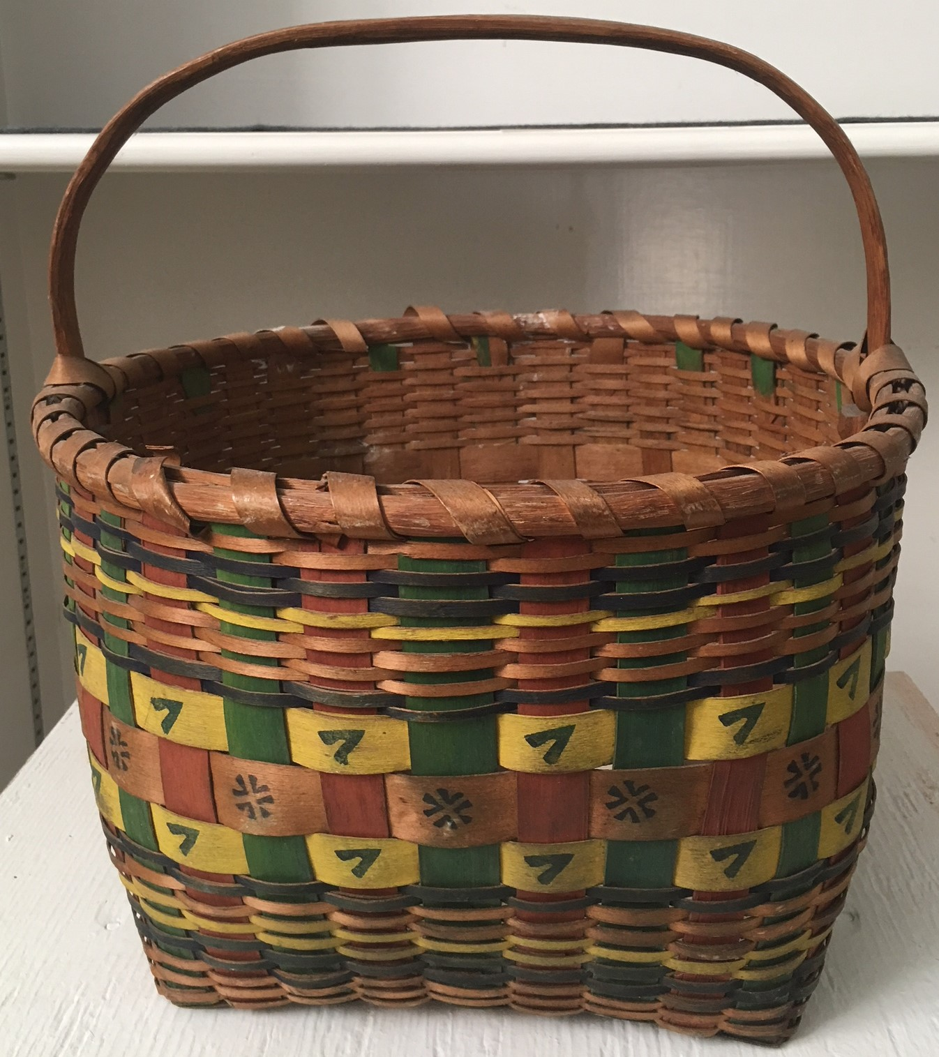 Indian Basket by Henry Harris